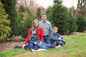 a golden hour session at the christmas tree farm | north potomac ...