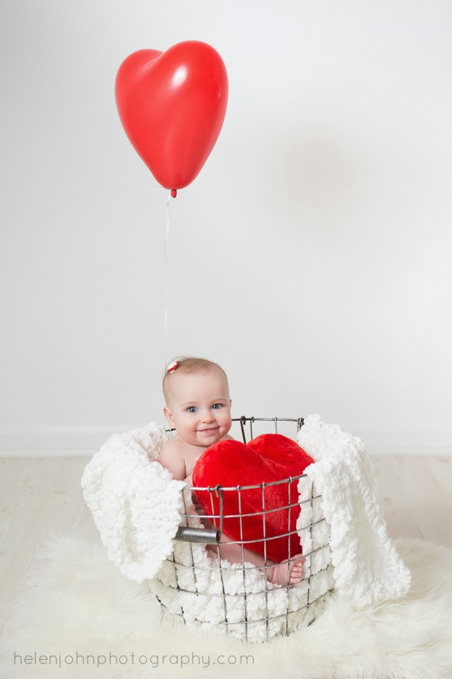 valentines day baby session north potomac maryland baby photographer - Baby Valentine
