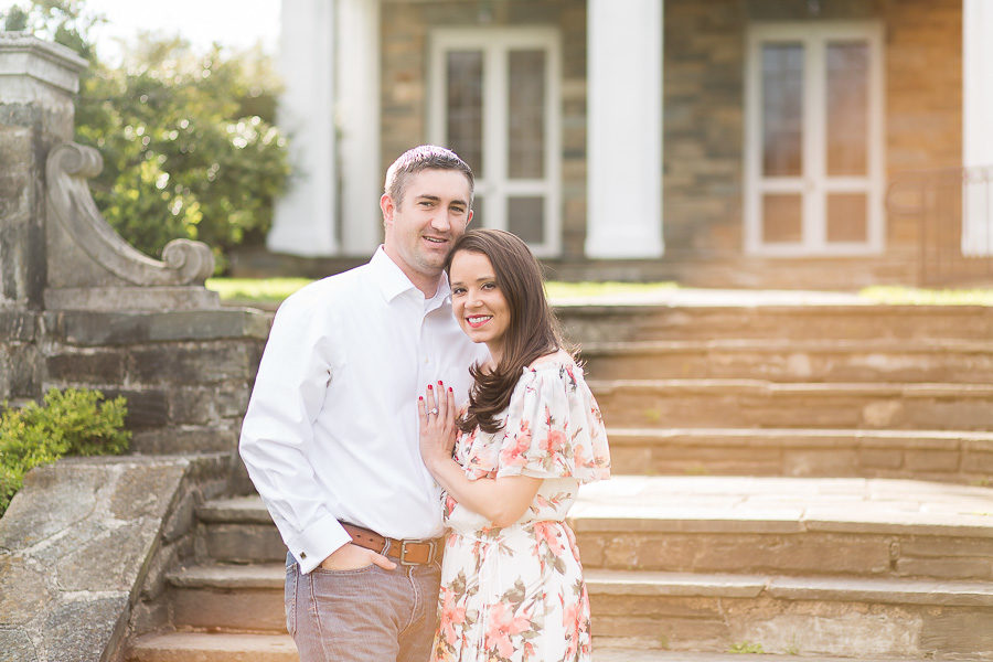 glenview mansion engaged couple