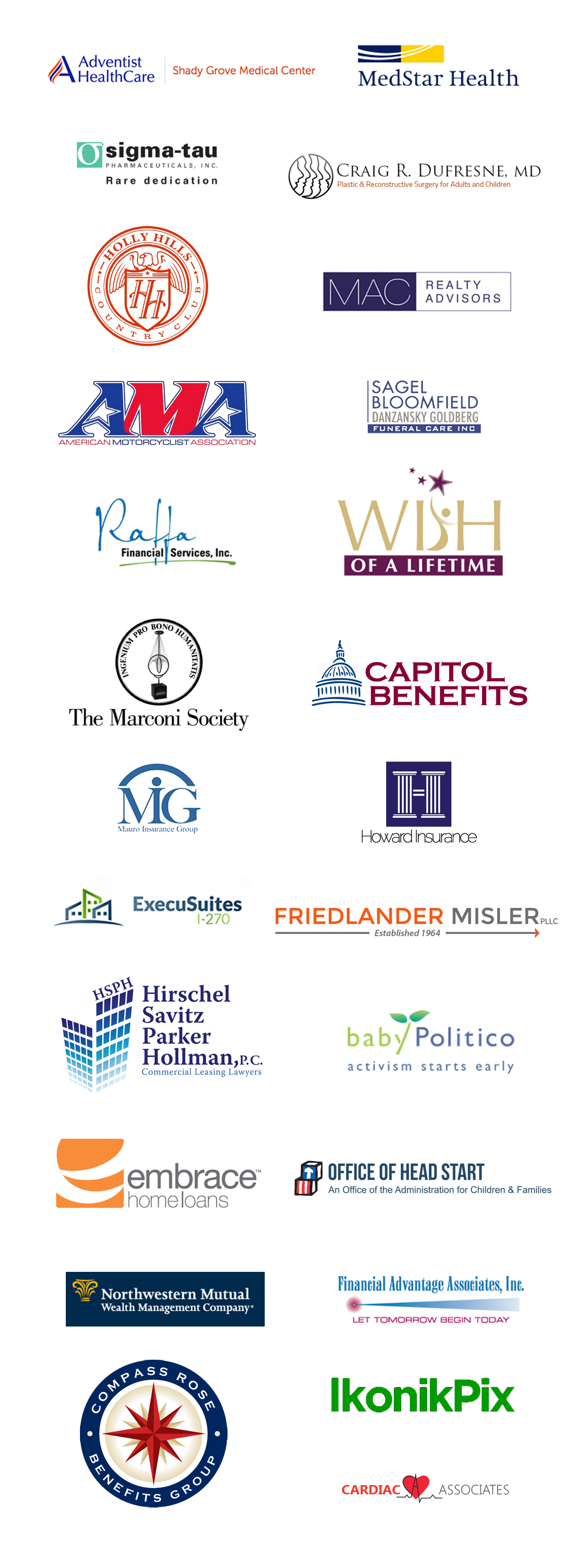 logos of business who trust helen don photography