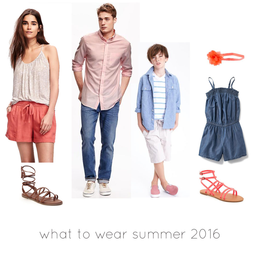 what clothing to wear for family portraits in 2016