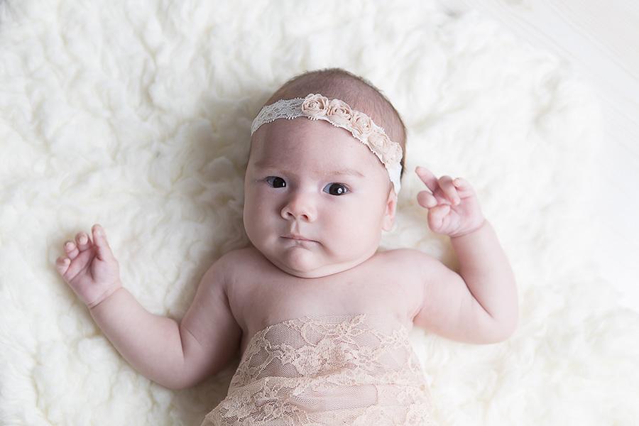 baby girl blooper
