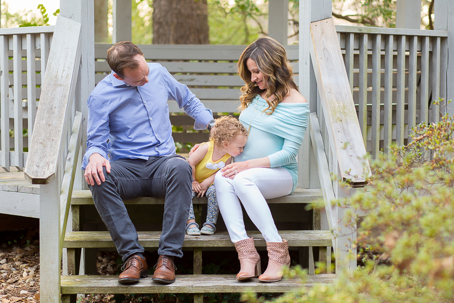 adorable kensington md family maternity portrait