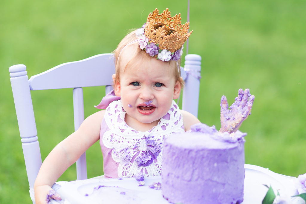 Our Princess Violette Is One Helen Don Photography